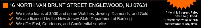 Palisade Jewelers Pawn Service Description